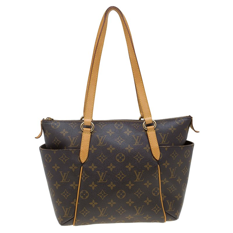 f6b3af78b62a Buy Louis Vuitton Monogram Canvas Totally PM Bag 63677 at best price ...