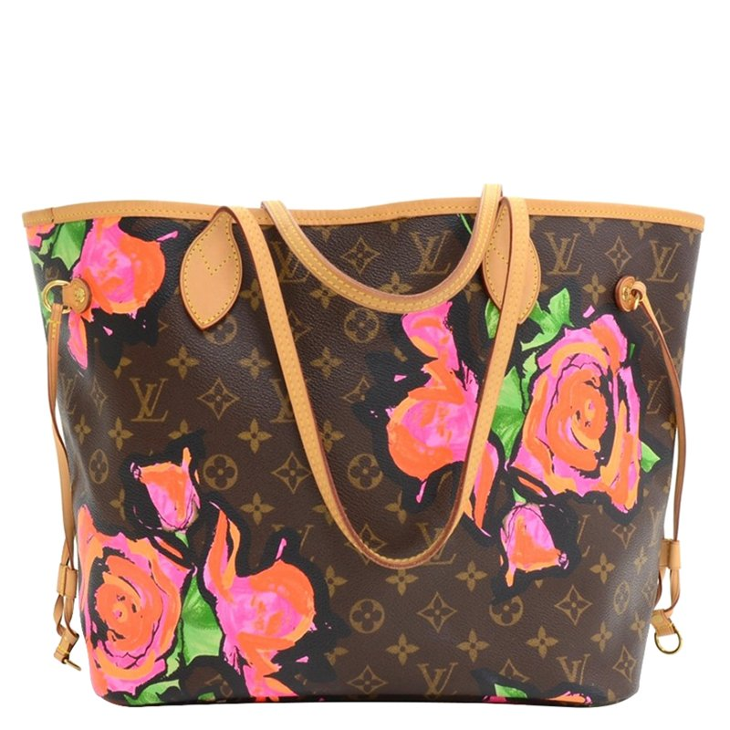... Monogram Canvas Limited Edition Stephen Sprouse Roses Neverfull MM.  nextprev. prevnext bca83649e57bd