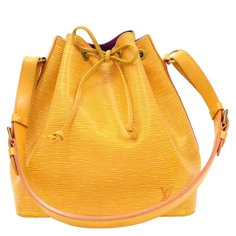 ... Louis Vuitton Tassil Yellow Epi Leather Petit Noe Bag. nextprev.  prevnext 0e231b5902b78