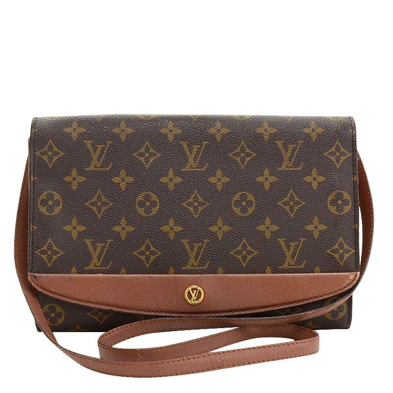 d30fd9933ed7 Buy Louis Vuitton Monogram Canvas Vintage Pochette Bordeaux Bag 68343 at  best price