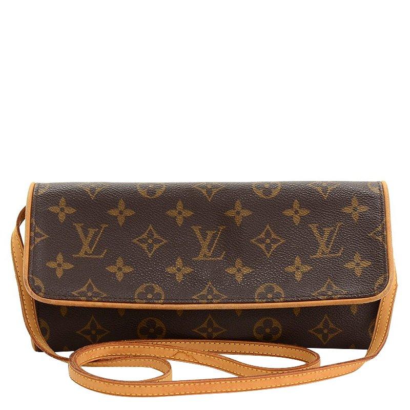 Louis Vuitton Monogram Canvas Pochette Twin GM Bag
