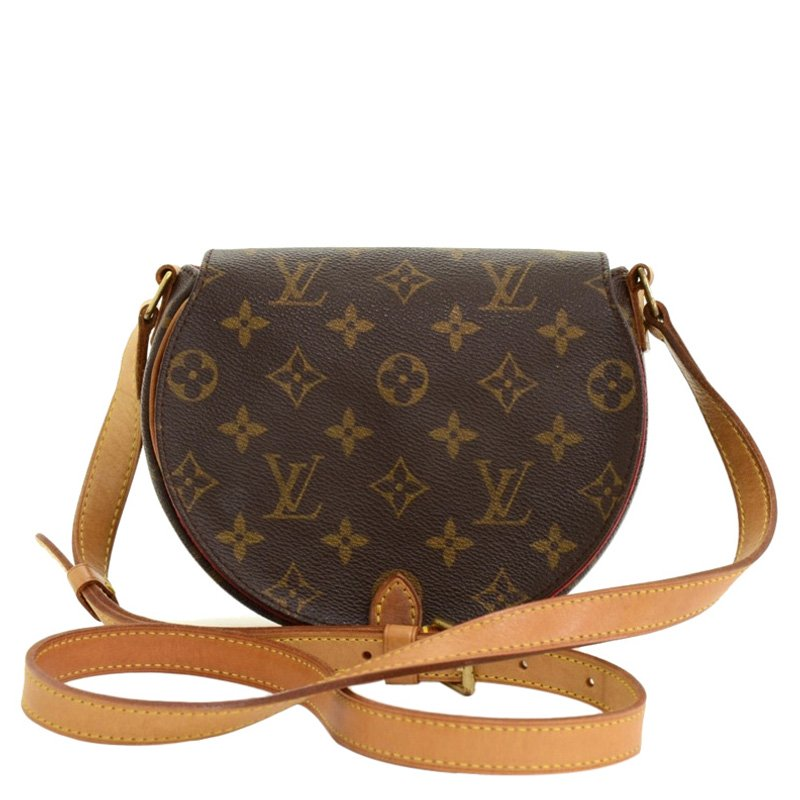 bbe5d66823 Louis Vuitton Monogram Canvas Tambourine Crossbody Bag
