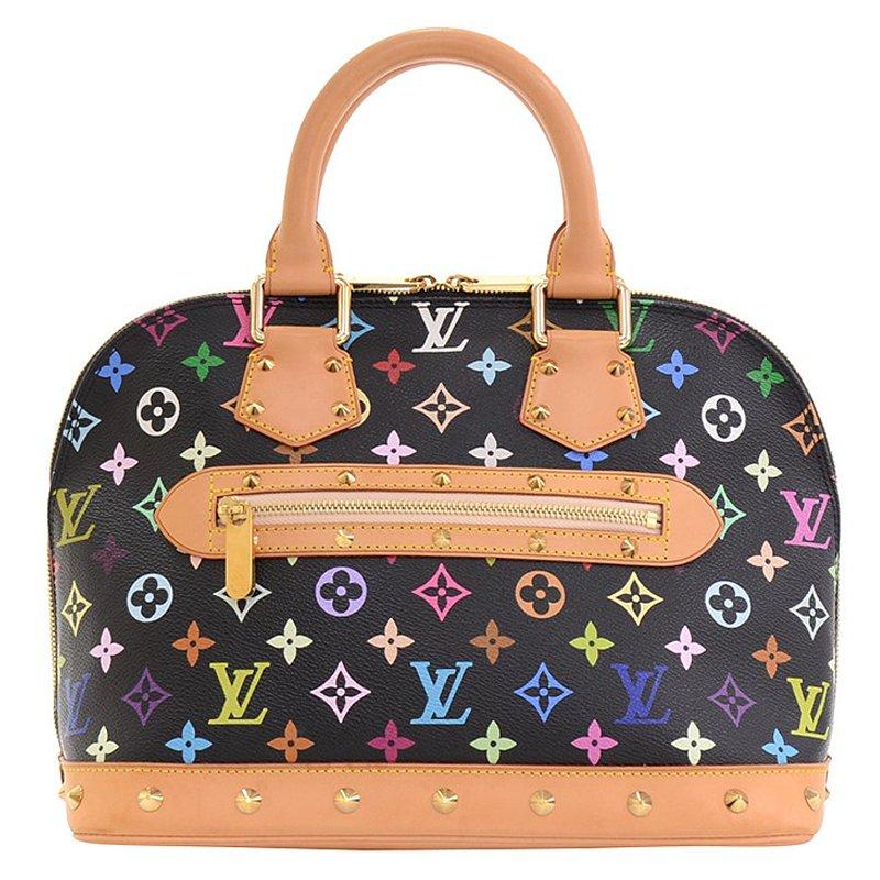0b149bee24c Buy Louis Vuitton Multicolor Monogram Canvas Alma Bag 69196 at best ...