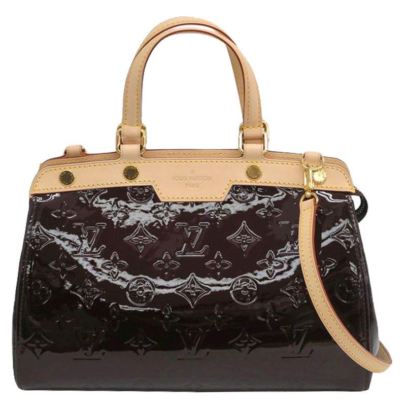 ... Louis Vuitton Amarante Monogram Vernis Brea PM Tote Bag. nextprev.  prevnext 8f6a66f463a35