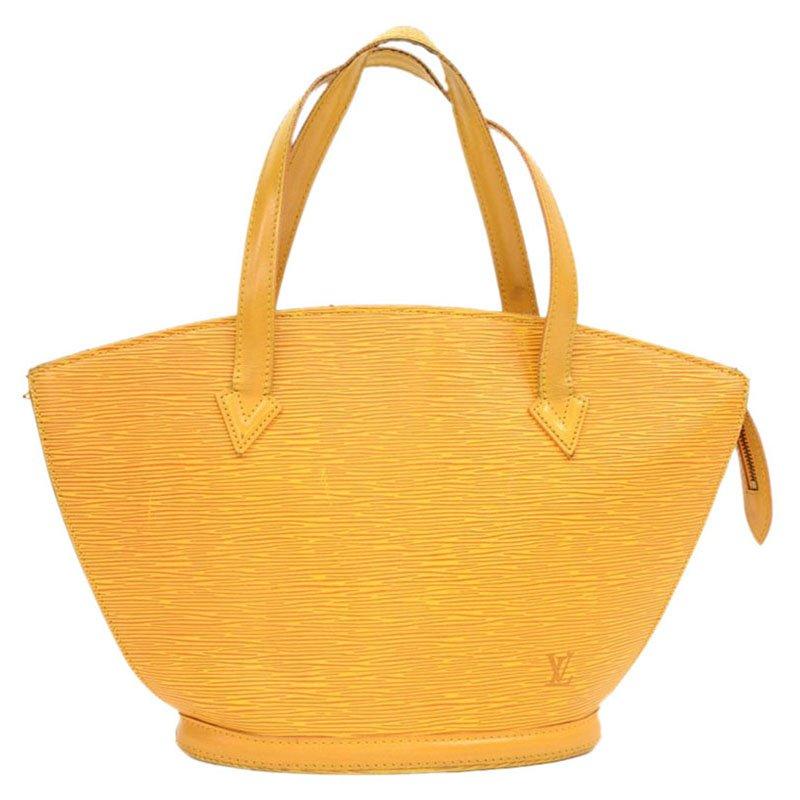 75ff34bafe98 ... Louis Vuitton Yellow Epi Leather Saint Jacques PM Bag. nextprev.  prevnext