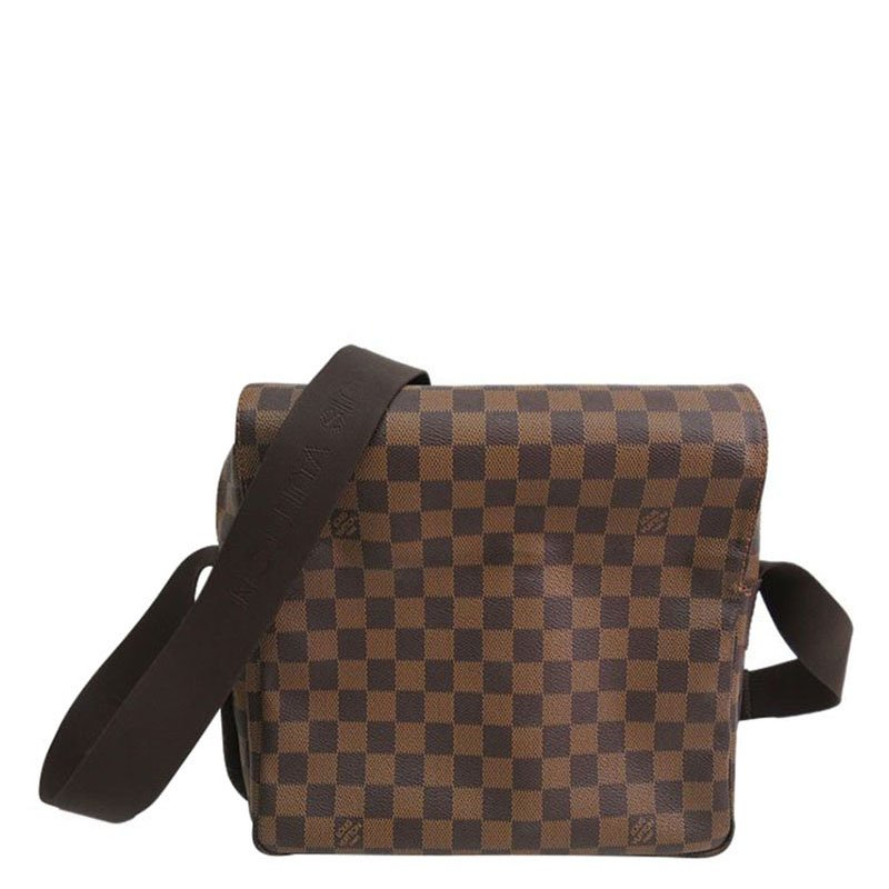 34cfc18eee33 Buy Louis Vuitton Damier Ebene Canvas Naviglio Messenger Bag 73200 ...