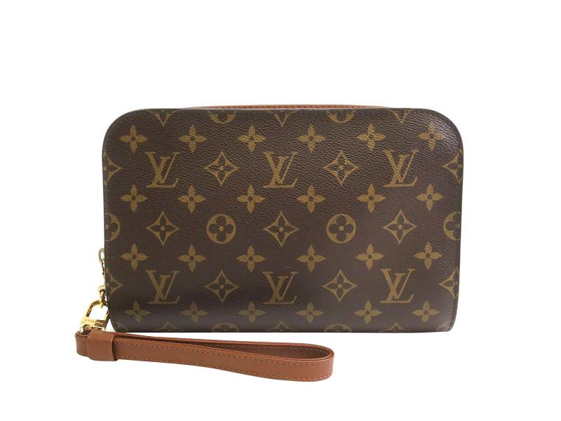 99a123206bc6 Buy Louis Vuitton Monogram Canvas Orsay Clutch 75166 at best price