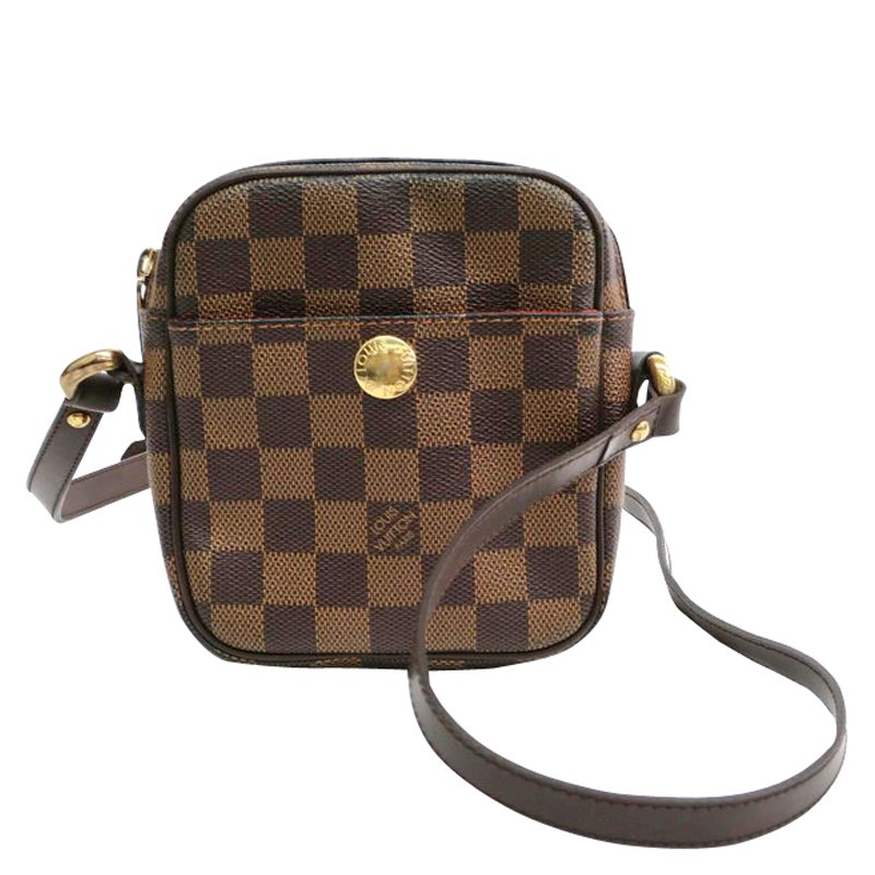 77b2b1799491 ... Louis Vuitton Damier Ebene Canvas Rift Crossbody Bag. nextprev. prevnext