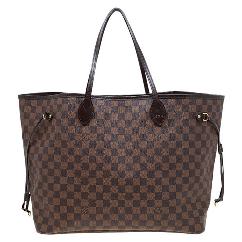 236b2908ba44 ... Louis Vuitton Damier Ebene Canvas Neverfull GM Bag. nextprev. prevnext