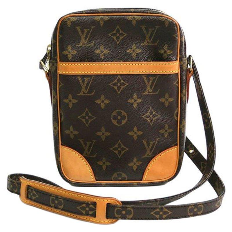 Buy Louis Vuitton Monogram Canvas Danube Shoulder Bag 76472 at best ... 032117990273e