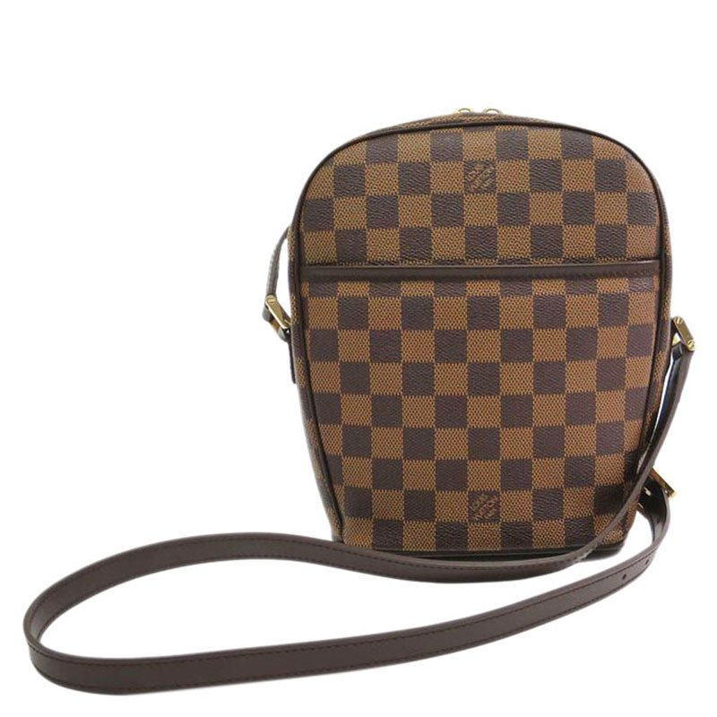 d74da356c90ca ... Louis Vuitton Damier Ebene Ipanema PM Crossbody Shoulder Bag. nextprev.  prevnext