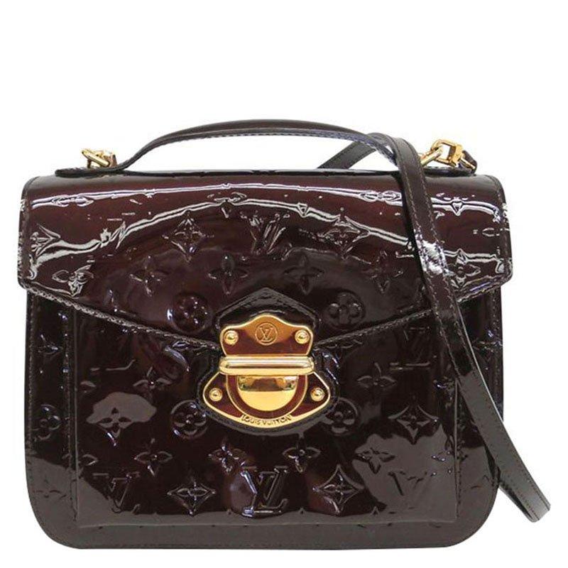 8c83170b0db4 Buy Louis Vuitton Amarante Monogram Vernis Mirada Bag 76677 at best ...