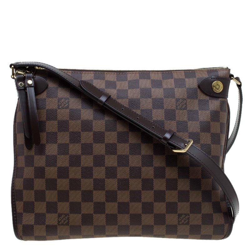 8a3ae553409eb Buy Louis Vuitton Damier Ebene Canvas Duomo Bag 78629 at best price ...