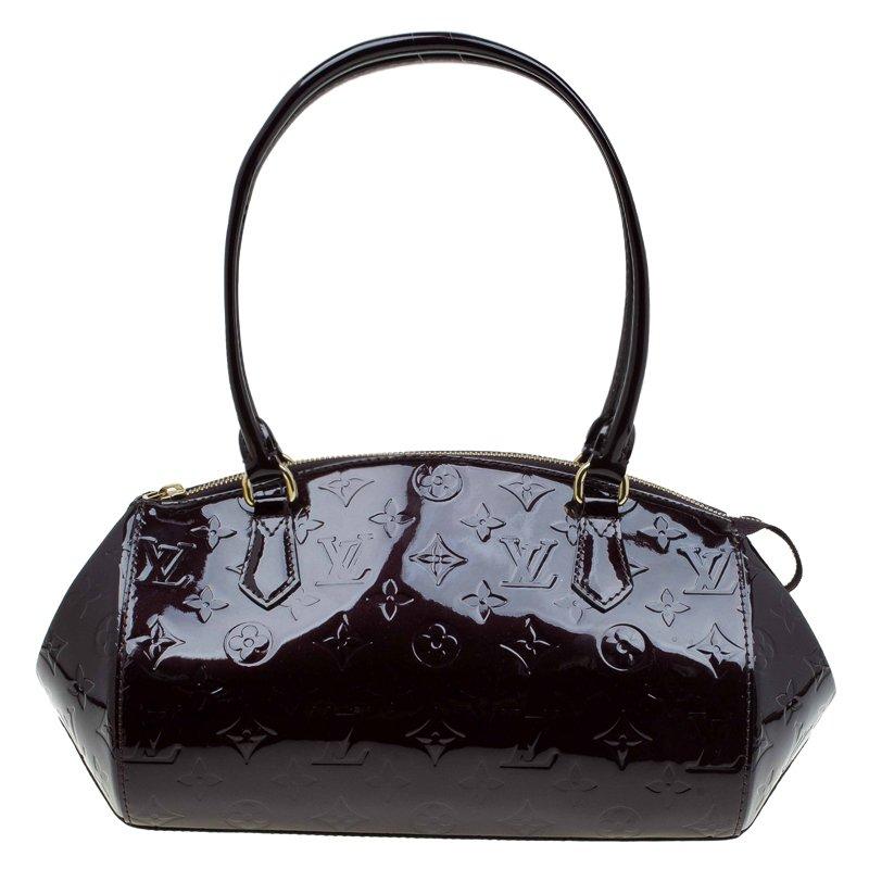 df2b09af585f ... Louis Vuitton Amarante Monogram Vernis Sherwood PM Bag. nextprev.  prevnext