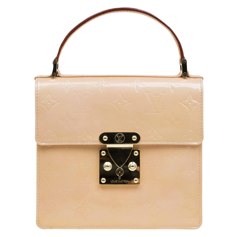c0c0540df6922 ... Louis Vuitton Marsmallow Monogram Vernis Spring Street Bag. nextprev.  prevnext