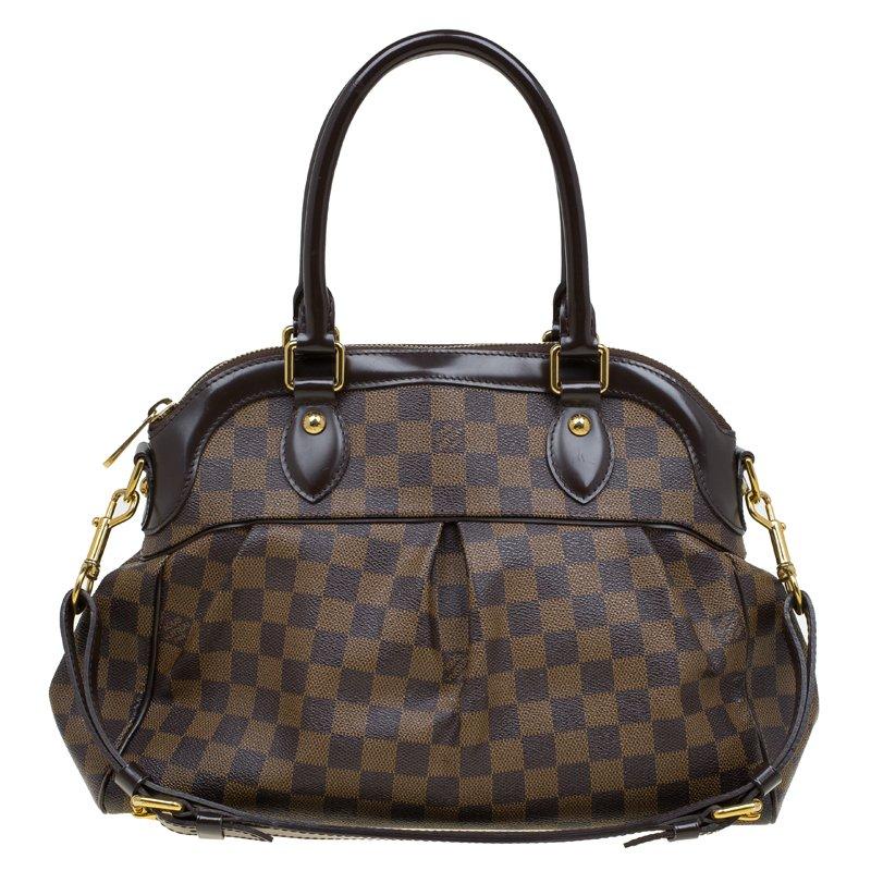 266ff1851c2d ... Louis Vuitton Damier Ebene Canvas Trevi PM Bag. nextprev. prevnext