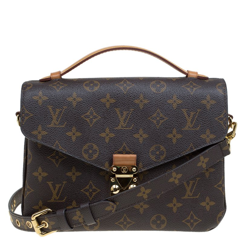 Buy Louis Vuitton Monogram Canvas Pochette Metis Bag 80293 At Best