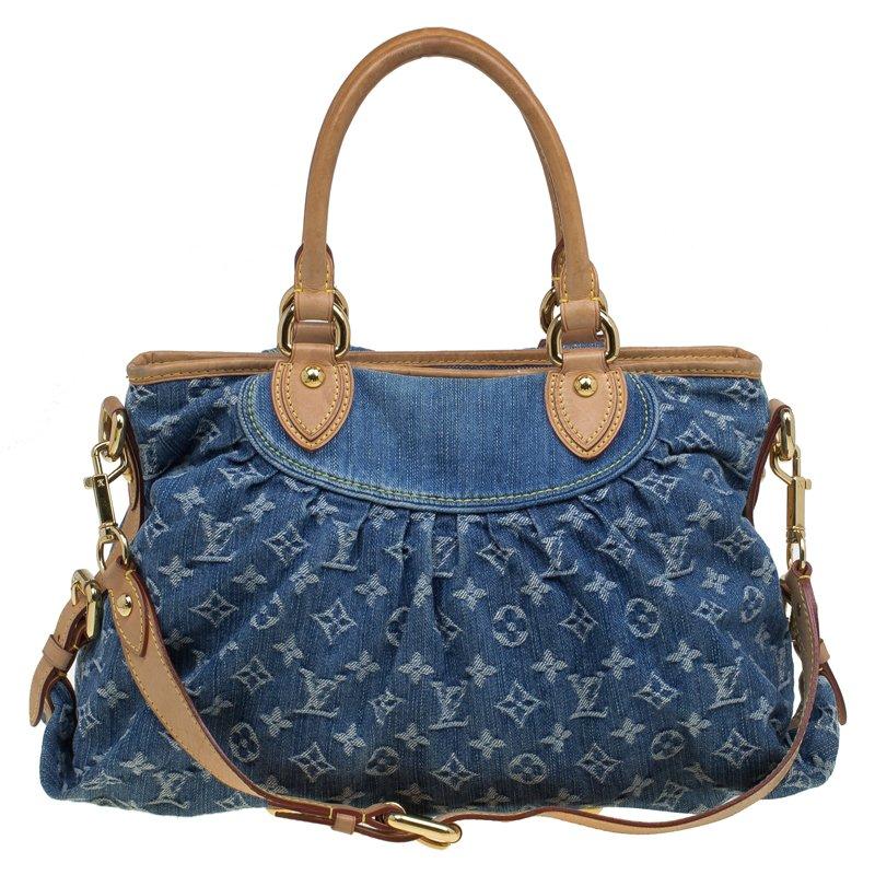 703c3d0d204f ... Louis Vuitton Blue Monogram Denim Neo Cabby MM Bag. nextprev. prevnext