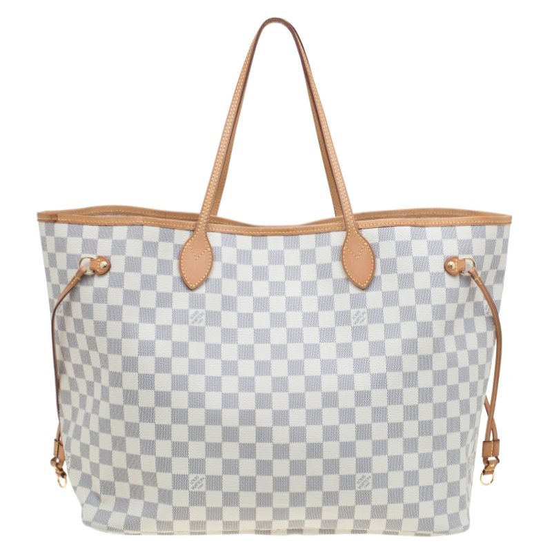 ... Louis Vuitton Damier Azur Canvas Neverfull GM Bag. nextprev. prevnext 341a891562479