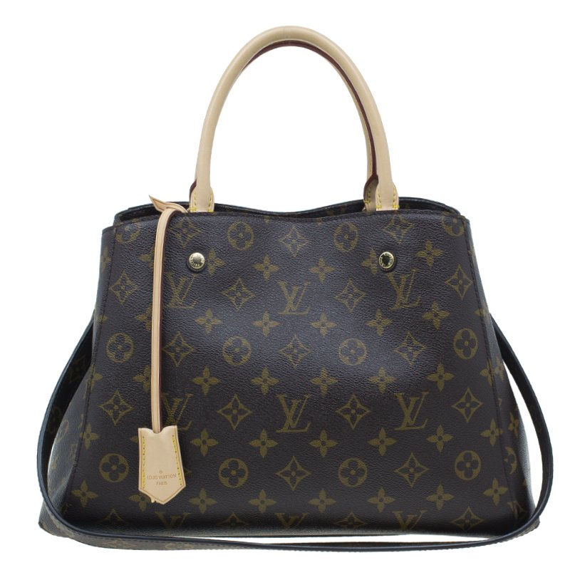 Louis Vuitton Monogram Canvas Montaigne Tote MM