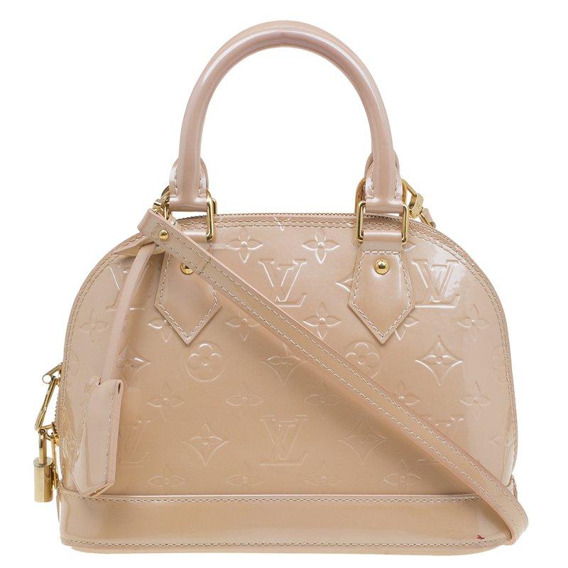 dcdbddf9dad ... Louis Vuitton Citrine Monogram Vernis Alma BB Bag. nextprev. prevnext