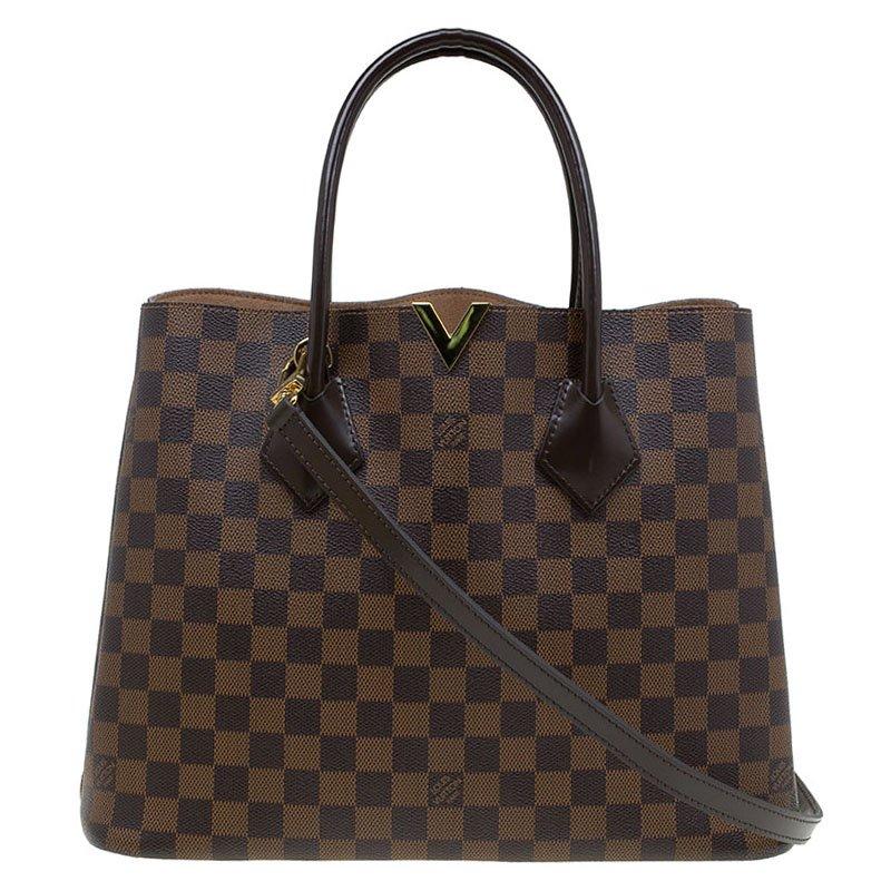 Buy Louis Vuitton Damier Ebene Canvas Kensington V Bag 81911 at best ... a84285c857e1f