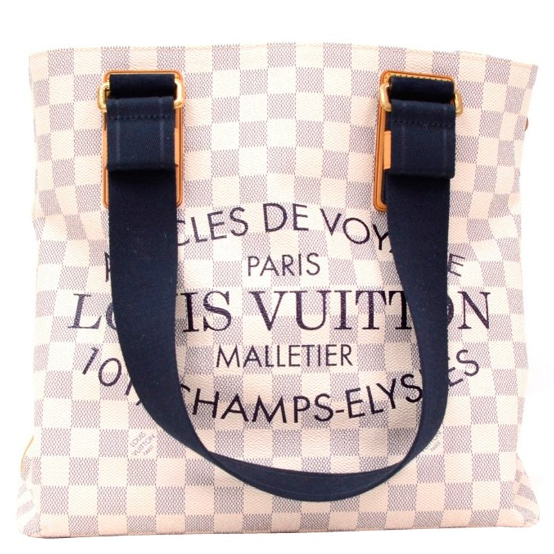 1fdbe0263767 ... Louis Vuitton Damier Azur Canvas Articles De Voyage Tote. nextprev.  prevnext