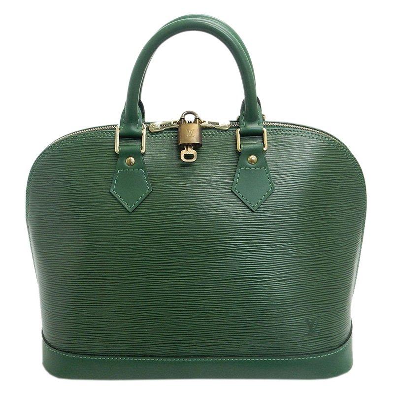 ... Louis Vuitton Green Epi Leather Alma Tote Bag. nextprev. prevnext a5a1dbec5498c