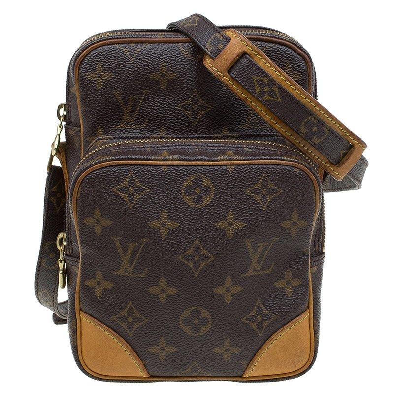 quality design 15a30 ad8ac Louis Vuitton Monogram Canvas Amazone Camera Case Bag