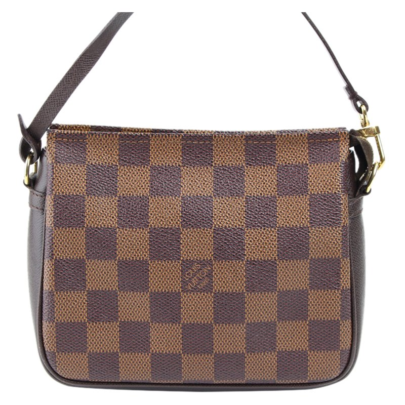 9391afa16ed9 ... Louis Vuitton Damier Ebene Canvas Trousse Pochette Bag. nextprev.  prevnext