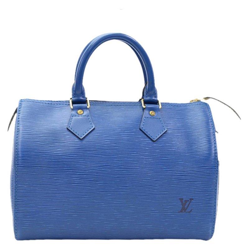 58916c9575a0 ... Louis Vuitton Toledo Blue Epi Leather Speedy 25 Bag. nextprev. prevnext