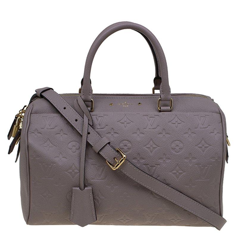 76e84ead49a9 ... Louis Vuitton Dune Monogram Empreinte Speedy 30 Bandoulière Bag.  nextprev. prevnext