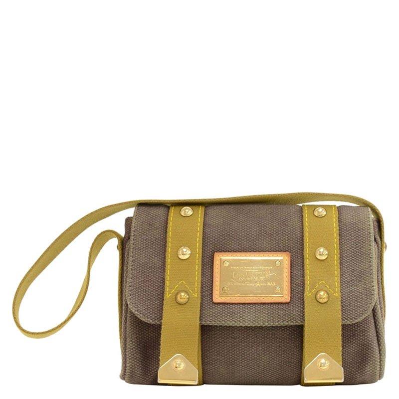 5f2d45aa67ba ... Louis Vuitton Brown Canvas Antigua Sac Rabat Bag. nextprev. prevnext