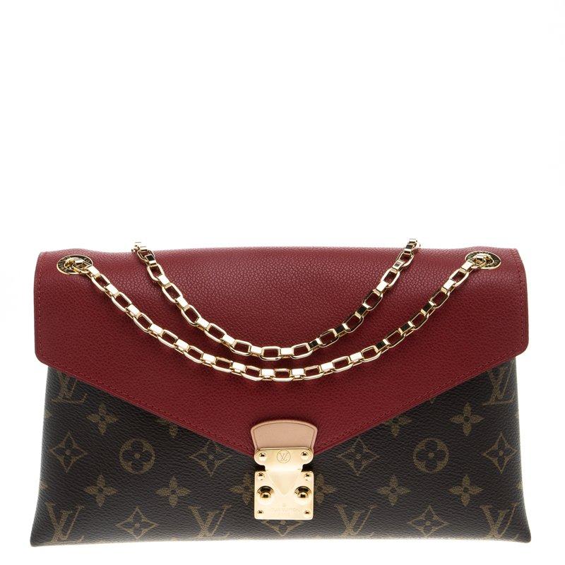 02e0877eea0b ... Louis Vuitton Cerise Monogram Canvas Pallas Chain Bag. nextprev.  prevnext