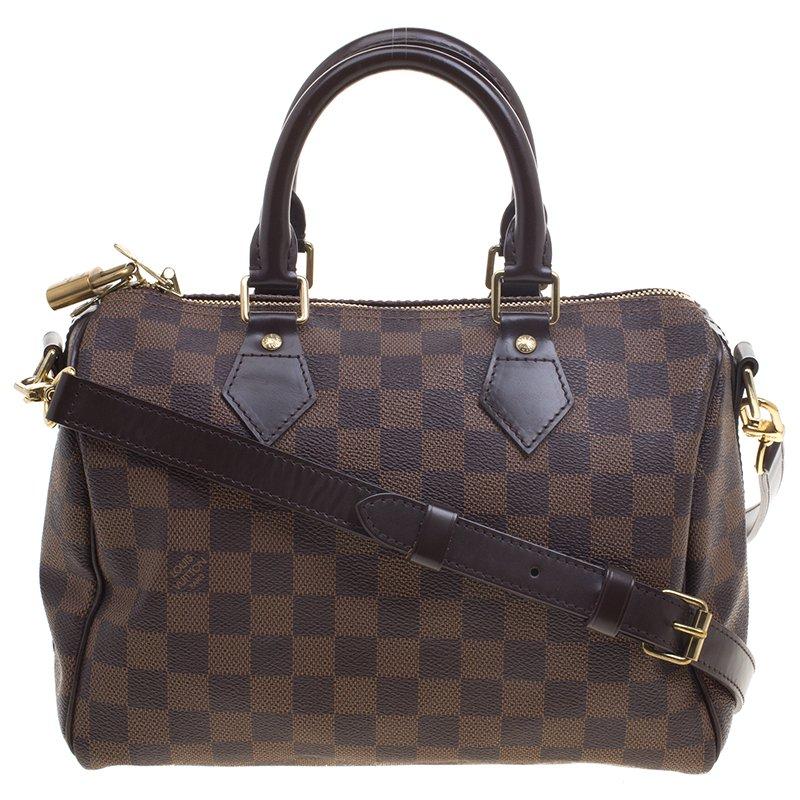 ... Louis Vuitton Damier Ebene Monogram Canvas Speedy 25 Bandouliere.  nextprev. prevnext 0c5c9aa60a170