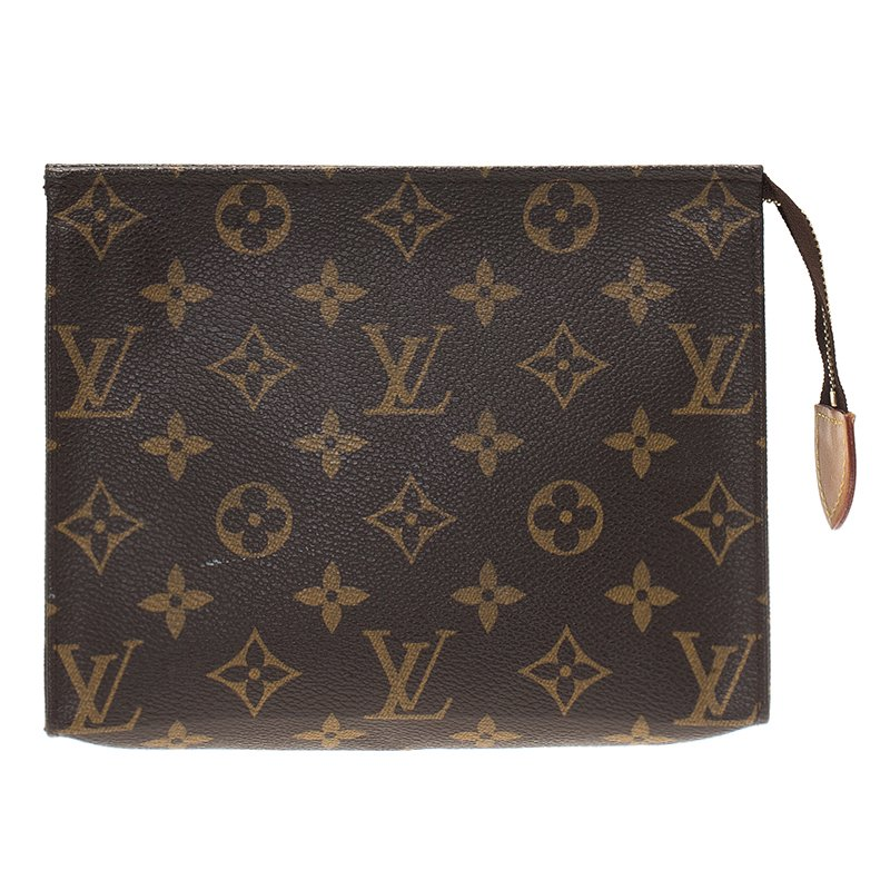 4b4a2579723 Buy Louis Vuitton Monogram Canvas Toiletry Pouch 19 50430 at best ...