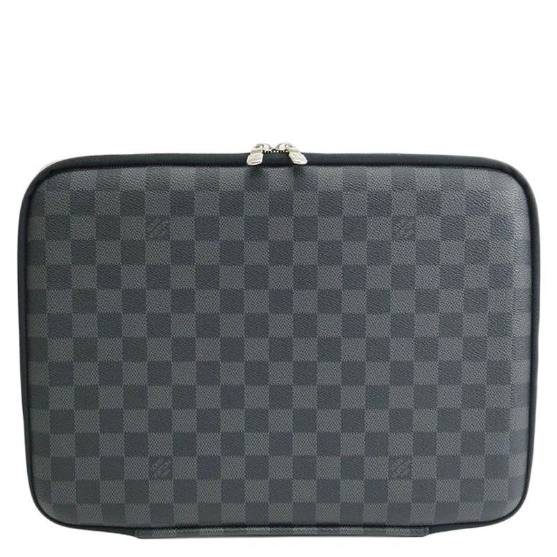 f543dab690469 ... Louis Vuitton Damier Graphite Canvas Sleeve PM Laptop Bag. nextprev.  prevnext