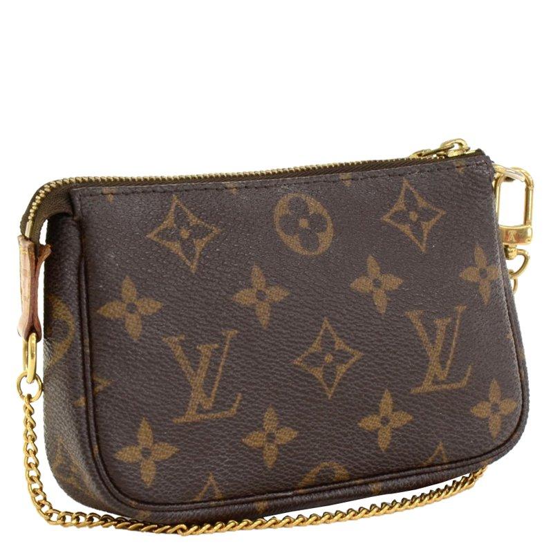 site réputé 223a7 5360c Louis Vuitton Monogram Canvas Mini Pochette Accessoires