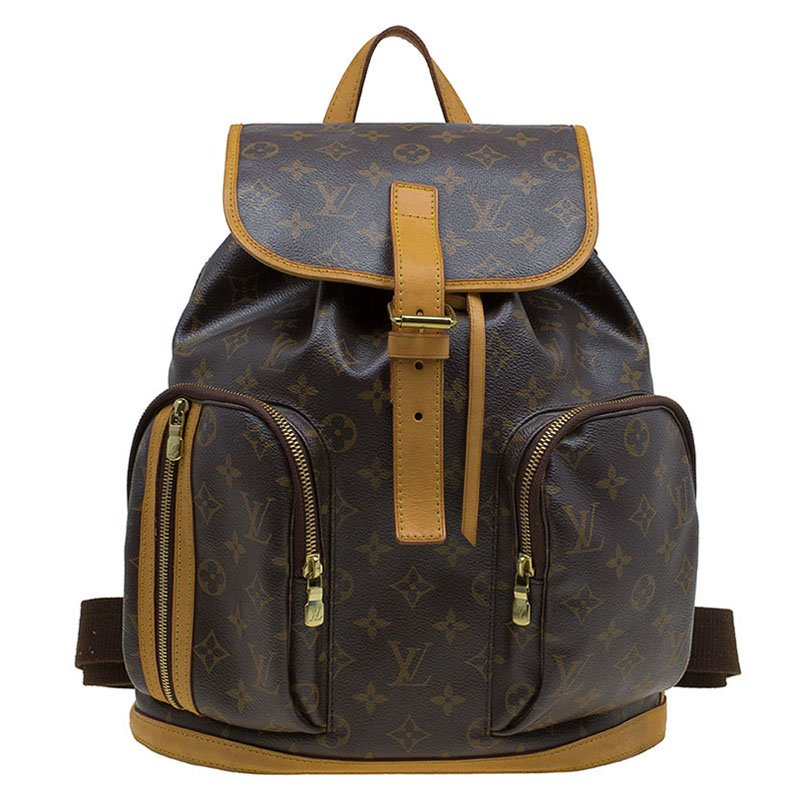 bb531d786bf4 Louis Vuitton Monogram Canvas Sac a Dos Bosphore Backpack