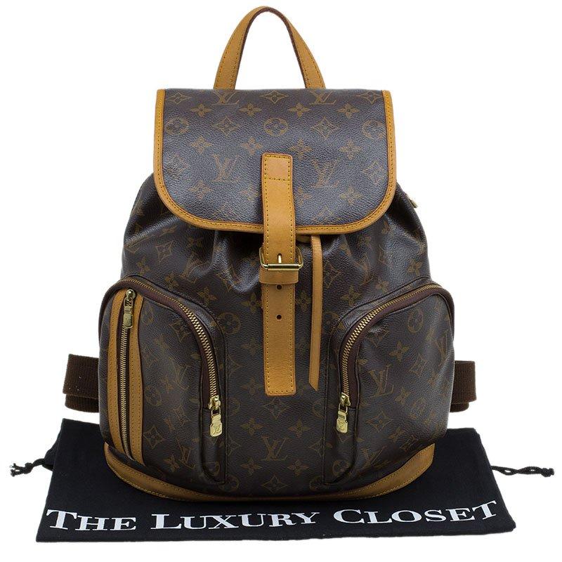 meilleure sélection 1b990 3cb9c Louis Vuitton Monogram Canvas Sac a Dos Bosphore Backpack