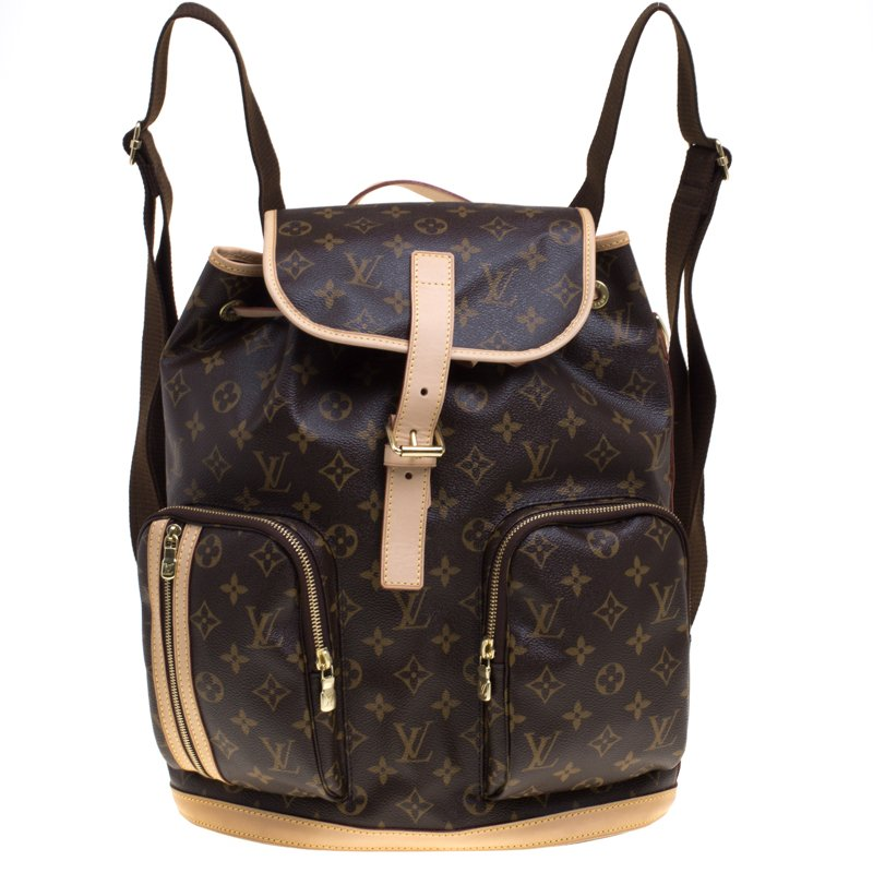 3580d8452991 Buy Louis Vuitton Monogram Canvas Sac a Dos Bosphore Backpack 91876 ...