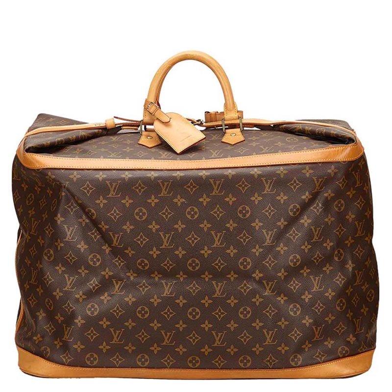 cef9d5b91dc6 Louis Vuitton Monogram Canvas Cruiser 55 Travel Bag 93660 At