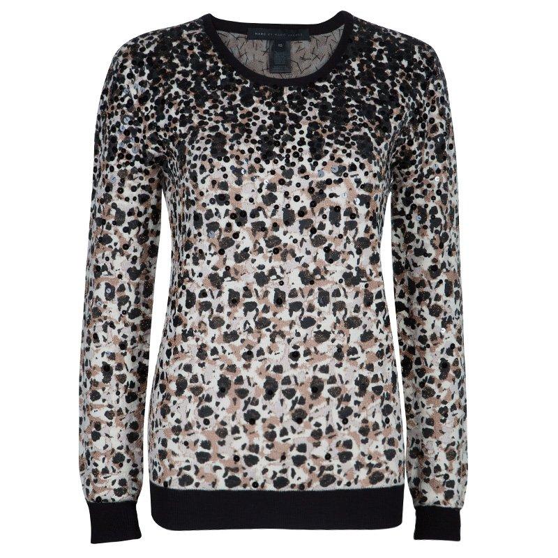 1b13e6e95800 ... Marc Jacobs Leopard Print Sequin Embellished Sweater XS. nextprev.  prevnext