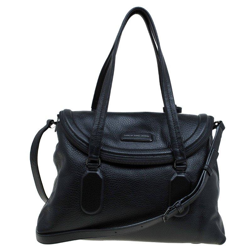 e12c6e1c2c ... Marc Jacobs Black Leather Silicon Valley Top Handle Bag. nextprev.  prevnext
