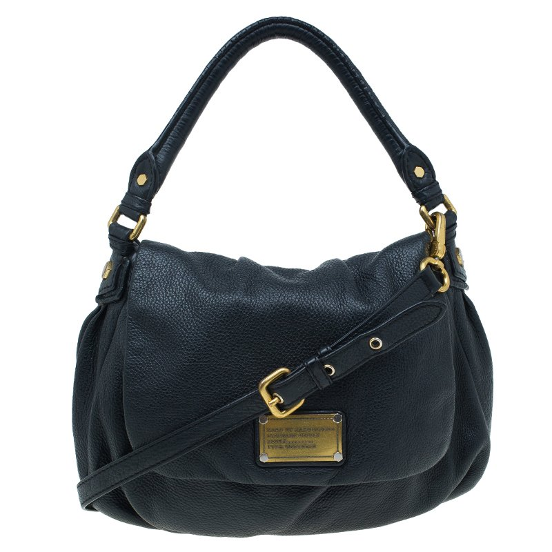 88ee7b90071c ... Marc Jacobs Black Leather Classic Q Lil Ukita Shoulder Bag. nextprev.  prevnext