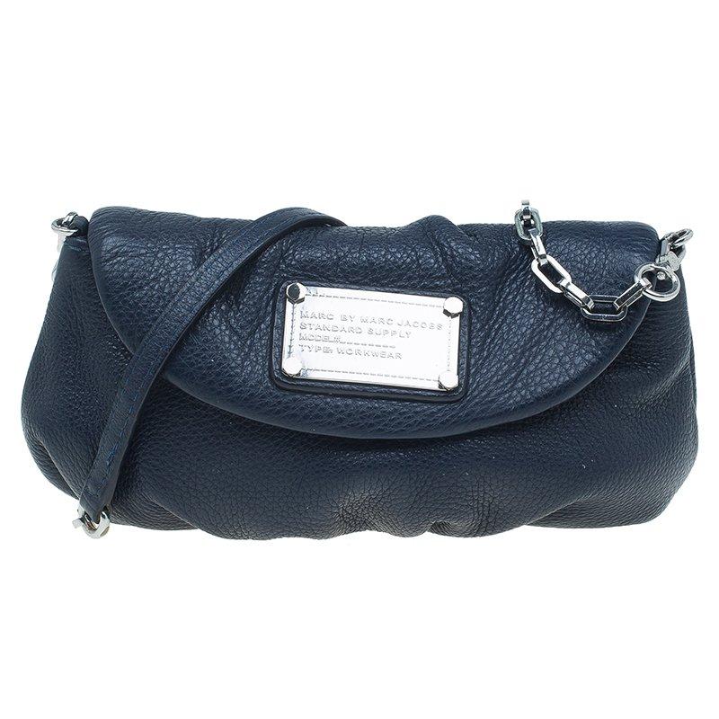 e5dfa56dfe67 ... Marc Jacobs Navy Blue Leather Classic Q Karlie Crossbody Bag. nextprev.  prevnext