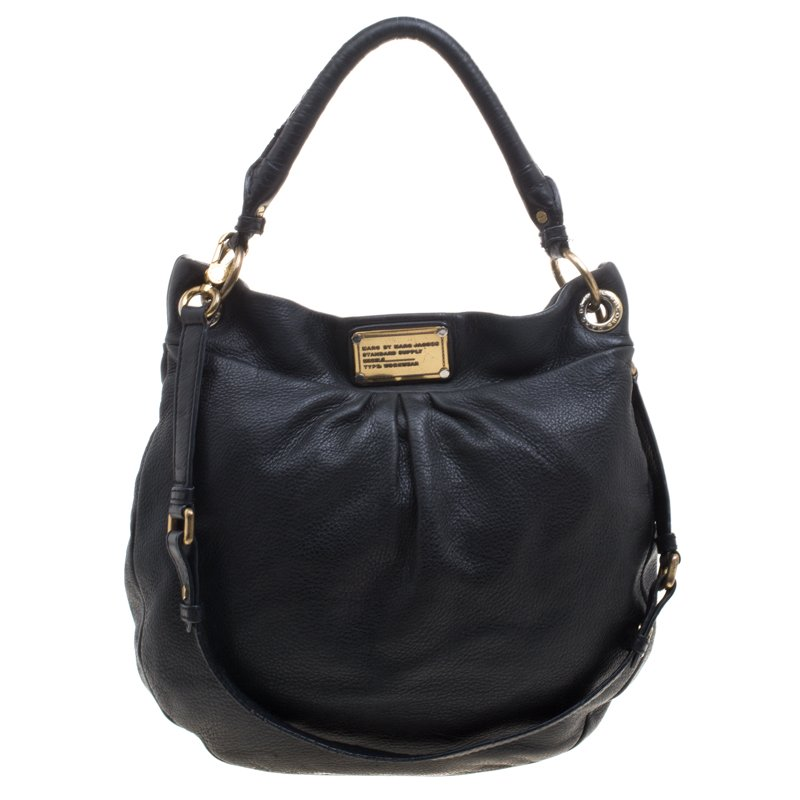 590640f3694a ... Marc Jacobs Black Leather Classic Q Hillier Hobo. nextprev. prevnext