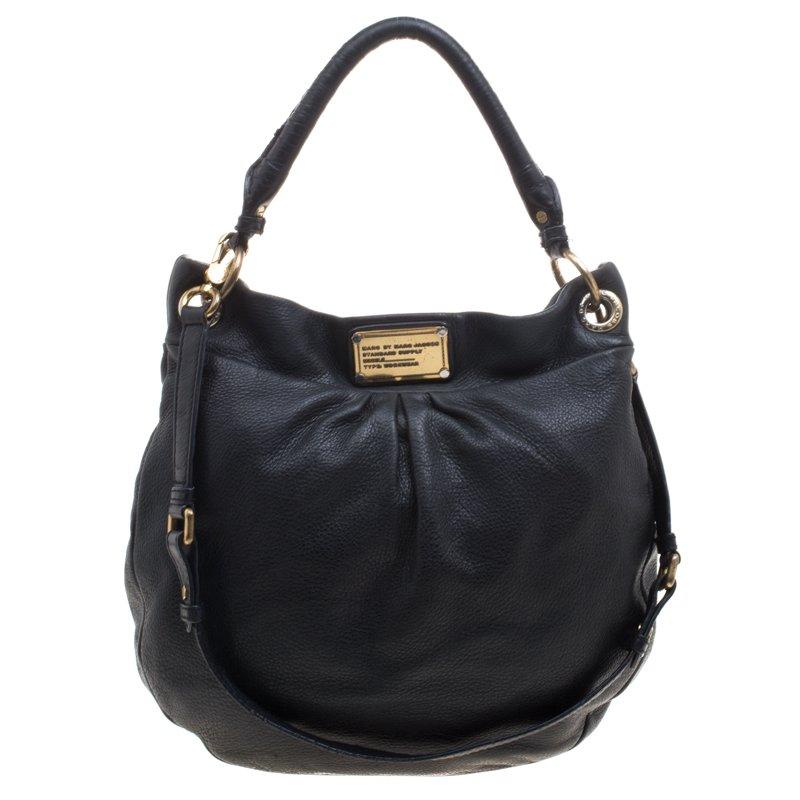 62a3d0c68337f ... Marc Jacobs Black Leather Classic Q Hillier Hobo. nextprev. prevnext
