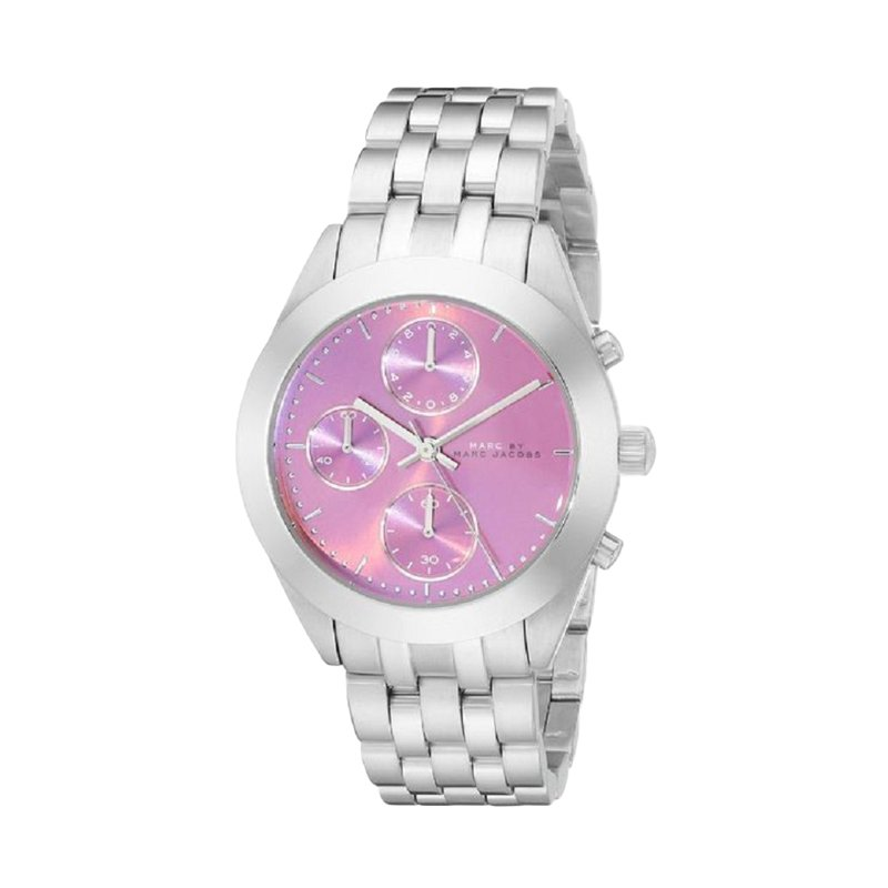 Marc by Marc Jacobs Pink Stainless Steel MBM3372 Women's Wristwatch 36MM