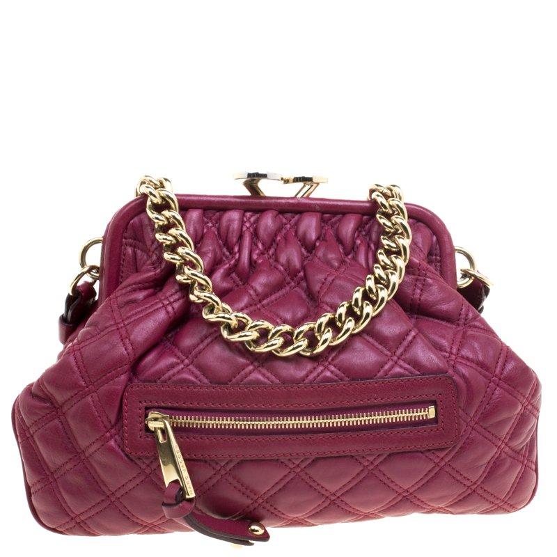 7e2ae07d62 ... Marc Jacobs Burgundy Leather Mini Stam Shoulder Bag. nextprev. prevnext